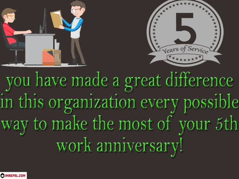 congratulations on completing 5 years of service quotes