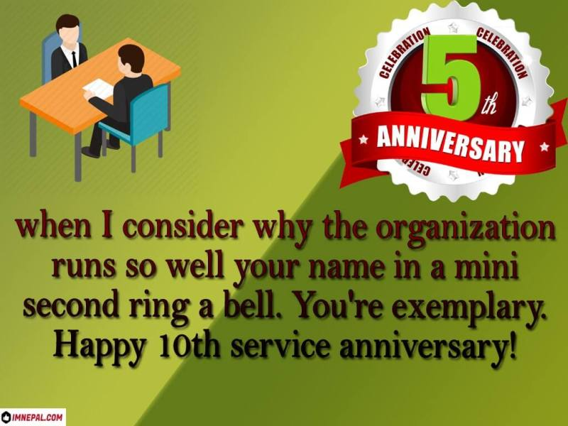 congratulations message on completing 5 years of service