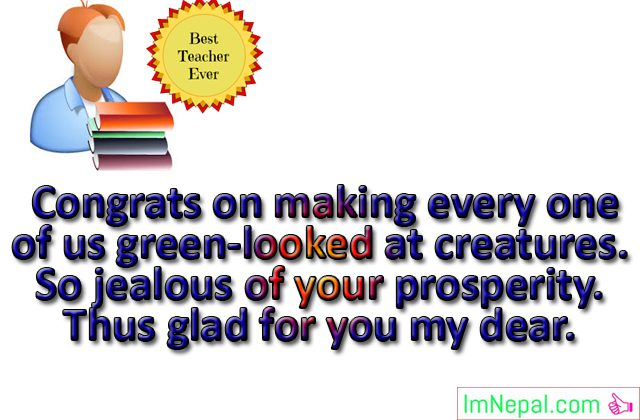 Best teacher award prizes winner achievement Congratulations messages quotes greeting cards images wishes photos picture