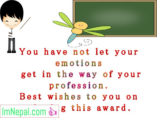 Best teacher award prizes winner achievement Congratulations messages quotes greetings cards images Wallpapers wish photos pictures wallpapers