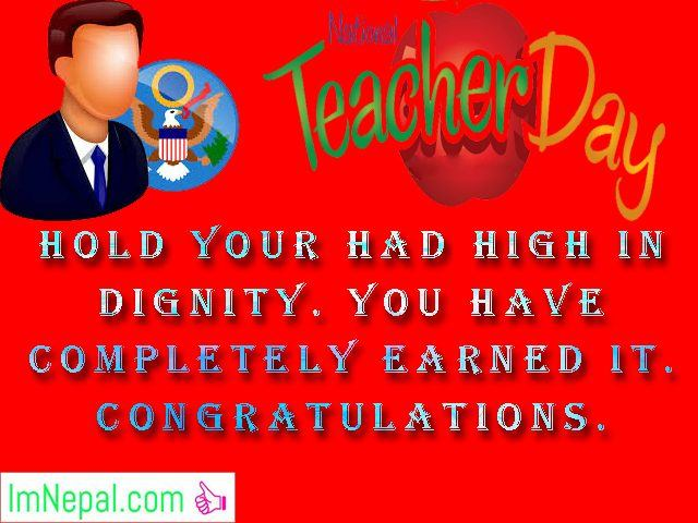 Best teacher award prizes winner achievement Congratulations messages quotes greetings cards images Wallpapers wishes photo pictures wallpapers
