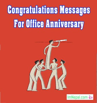 Congratulations Messages For Office Anniversary - Wishes, Words & Quotes