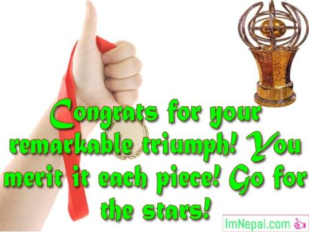 Congratulation Quotes Photos Messages Cards wishes Pics Pictures HD Images Wallpapers For Winning The Award Achievements