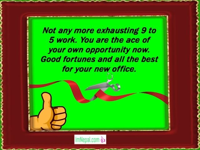 Congratulations messages wishes text for New Office Business Opening starting quote Pictures Images Photos