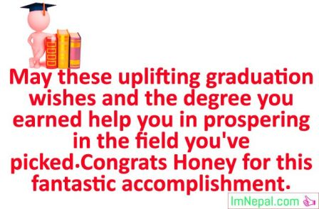 Congratulations Messages, Status, Quotes for Graduation to Boyfriend From Girlfriend