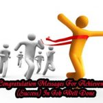 Congratulation Messages For Achievement In Job Well Done
