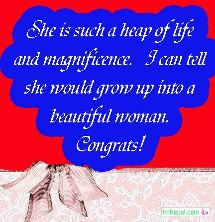 Congratulation Messages For New Baby Girl Born - New Baby Wishes & Quotes Collection