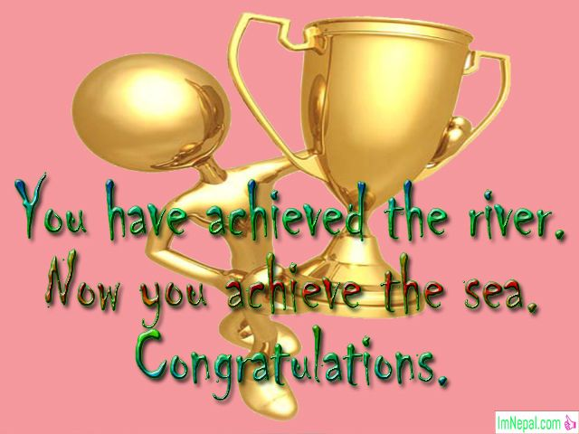 Congratulations Messages For Award Nomination - Wording