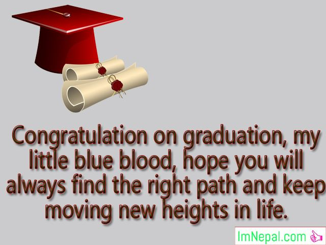 Congratulations Graduation Messages Wishes For Daughter From