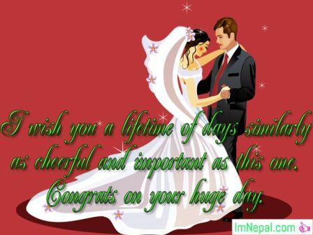 Congratulation Messages Wishes Text MSG Greetings Cards Images Photos Pic Pictures For Sister Wedding, Marriage