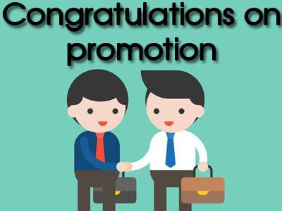 Congratulations on promotion Images Pictures Quotes Wishes Photos Pics Messages Wallpapers