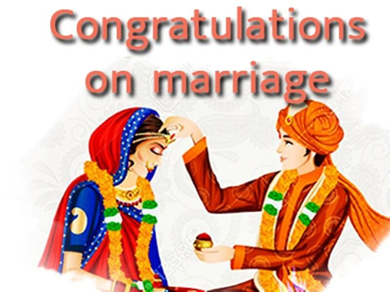 Congratulations Images for Marriage