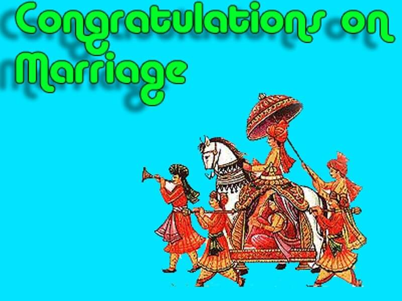 Congratulations for your marriage images