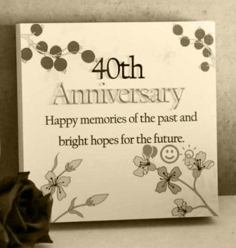 40th marriage wedding anniversary wishes messages congratulation sms greeting cards image pictures