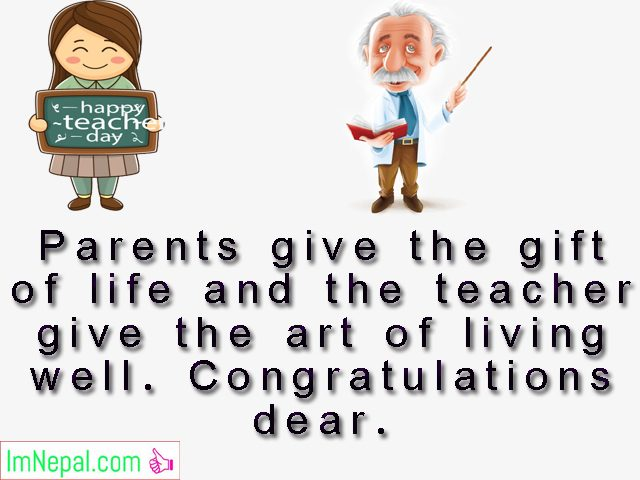 congratulations messages for best teacher award achievement wishes