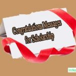 Congratulations Message For Scholarship
