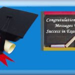 Congratulations Messages to Students for topping the exam in the class
