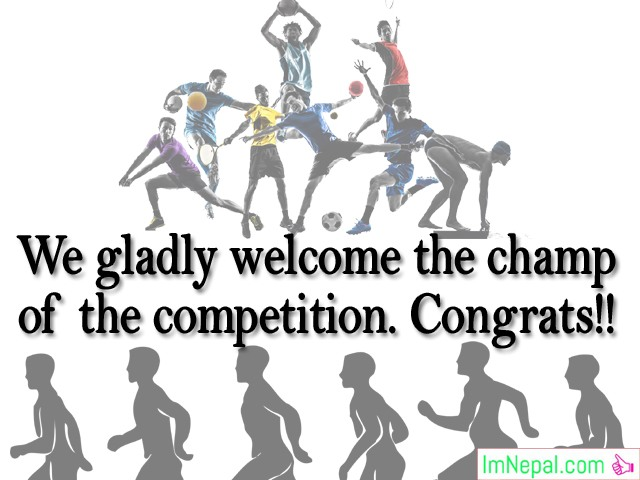 Winning Sports Tournament Competition Match footballing Congratulations Messages Best Wishes Cards Images Photos Pictures Greetings Ecard Wallpapers Quote