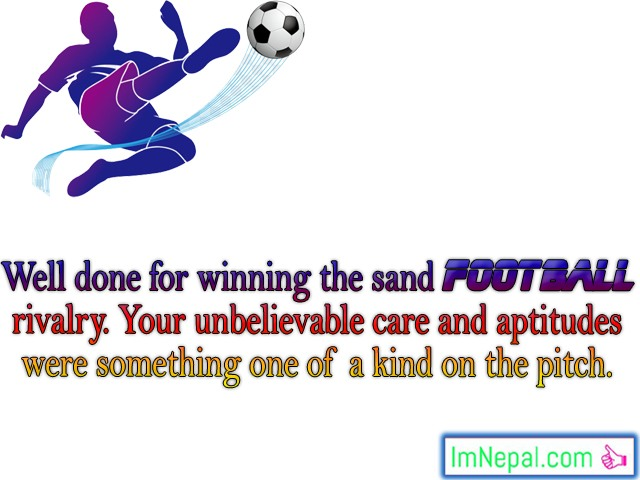 Winning Sports Tournament Competition Match fottballs Congratulations Messages Best Wishes Cards Images Photos Picture Greetings cards Wallpapers Quotes