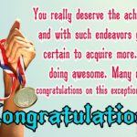 congratulations message for award winners winning competition