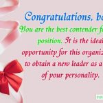 Congratulations Messages For Boss Promotion - Wishes, SMS, Wordings & Quotes Collection