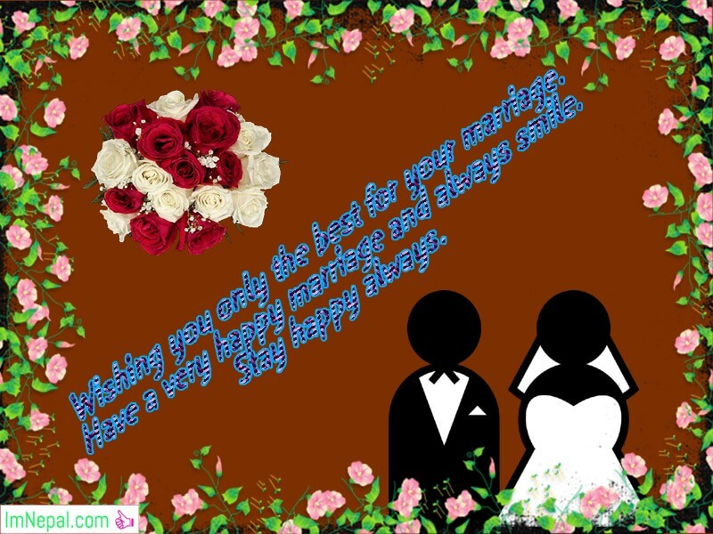 Happy Marriage Wishes Images For Sister
