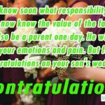 Congratulations Messages for Wedding Engagement of Son - Best Wishes Greeting Cards