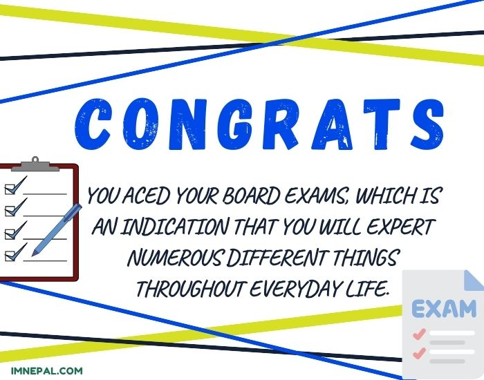 Congratulations Messages, Status, Quotes, Wishes For Passing The Board Exam With Greetings Images
