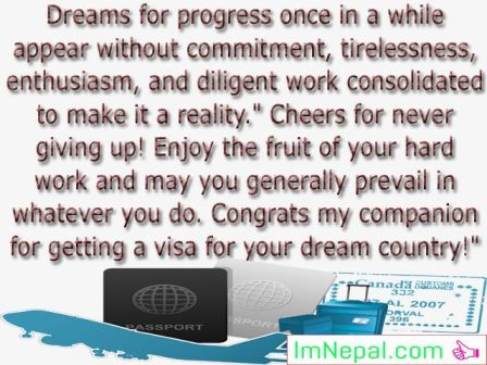 congratulations messages passing exams graduation success achievements photos image pictures pics greeting cards For Getting visa