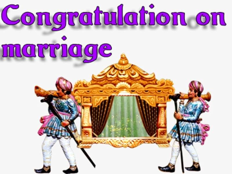 Congratulations Image for Marriage
