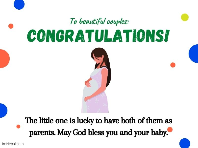 Baby Shower Congratulations Messages Wishes card
