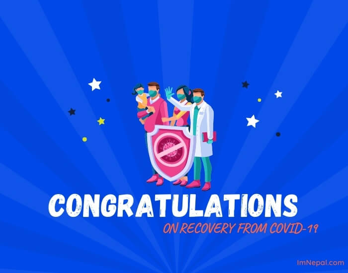 congratulations on recovery from covid-19 card